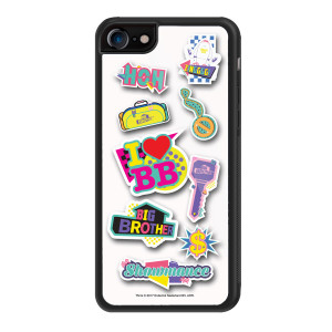 Big Brother 80's Stickers iPhone 7 Case