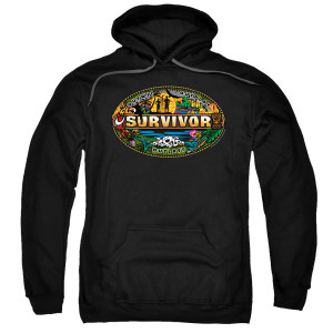 Survivor Mash-Up Pullover Hoodie (Black)