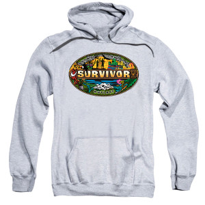 Survivor Mash-Up Pullover Hoodie (Heather Grey)