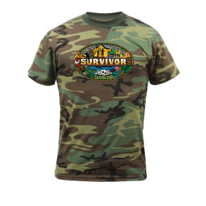 Survivor Mash-Up Camo T-Shirt