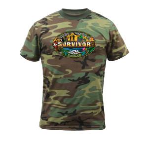 Survivor Mash-Up Camo T-Shirt