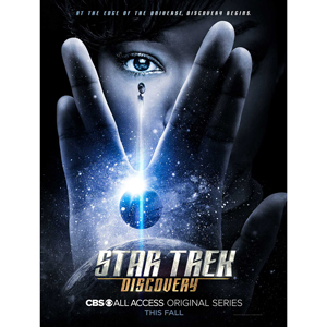 """Star Trek Discovery Giclee Poster [18""""x24""""]"""