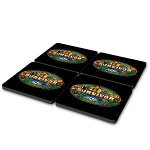 Survivor Mashup Coasters (Set of 4)