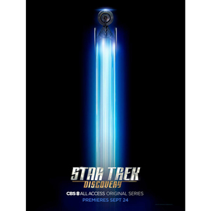 "Star Trek Discovery Ship Giclee Poster [18""x24""]"