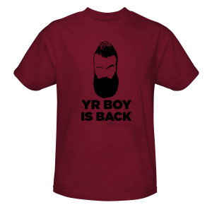 Big Brother Yr Boy T-Shirt (Cardinal)