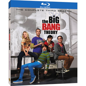 The Big Bang Theory: Season 3 Blu-ray