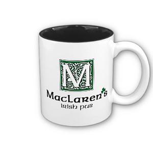 How I Met Your Mother MacLaren's Irish Pub Two Tone Mug