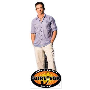 Survivor Jeff Probst Standee