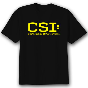 CSI Logo  Men's T-Shirt