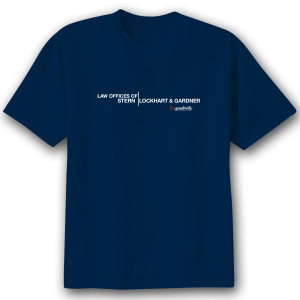 The Good Wife 'Law Offices' Men's T-Shirt