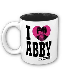 NCIS I Heart Abby Mug