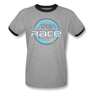 The Amazing Race Logo Ringer T-Shirt