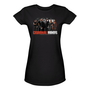 Criminal Minds Cast Women's Junior Fit T-Shirt