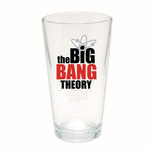 The Big Bang Theory Bazinga! Pint Glass