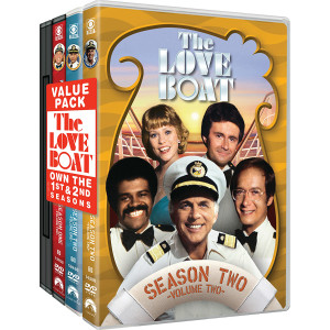 The Love Boat: Two Season Pack DVD