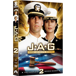 JAG: Season 2 DVD