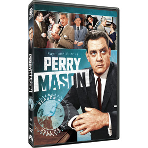 Perry Mason: Season 4 - Volume 1 DVD