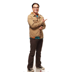 The Big Bang Theory Leonard Standee