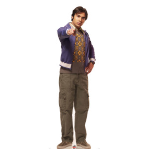 The Big Bang Theory Raj Standee