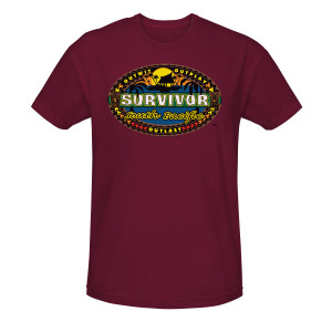 Survivor South Pacific T-Shirt - Burgundy