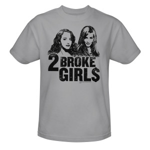 2 broke girls shirts