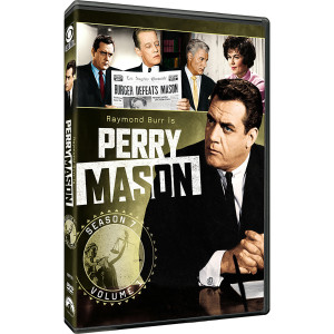 Perry Mason: Season 7 - Volume 1 DVD