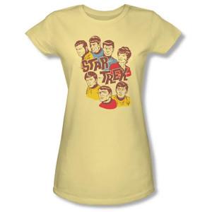 Star Trek Retro Illustrated Crew Women's T-Shirt