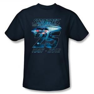 Star Trek Enterprise 25 Years T-Shirt