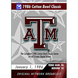 Texas A&M - 1986 Cotton Bowl Classic Game