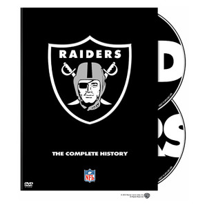 NFL History of the Oakland Raiders - DVD