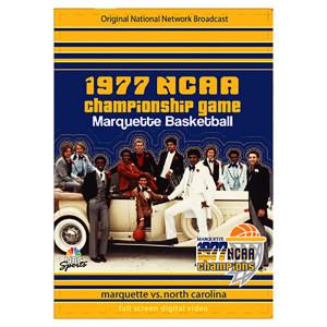 1977 NCAA Championship Game Marquette vs. North Carolina DVD