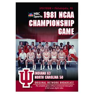 1981 NCAA Championship: Indiana vs UNC DVD