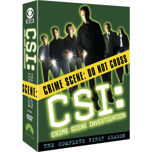 CSI: Crime Scene Investigation - Season 1 DVD