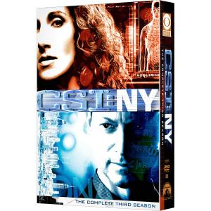 CSI: NY - Season 3 DVD
