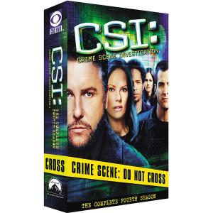 CSI: Crime Scene Investigation - Season 4 DVD