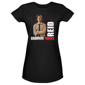 Criminal Minds Agent Reid Women's Junior Fit T-Shirt