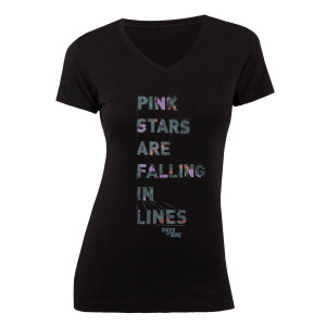 Under The Dome Stars Falling Women's V-Neck T-Shirt