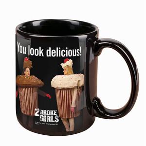 2 Broke Girls You Look Delicious Mug