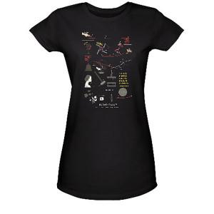 Elementary Rube Goldberg Concept Women's Junior Fit T-Shirt