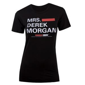 Criminal Minds Mrs. Derek Morgan Women's Junior Fit T-Shirt