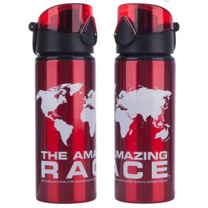 The Amazing Race Aluminum Water Bottle