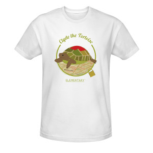 Elementary Clyde the Tortoise T-Shirt