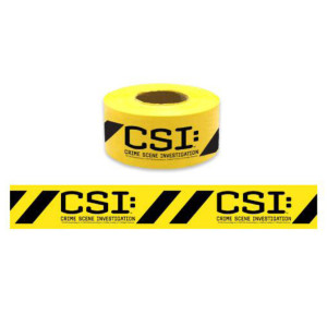 CSI Custom Crime Scene Tape
