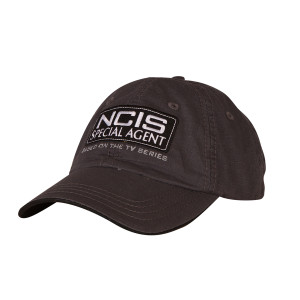 d0d635a2675 NCIS Special Agent Embroidered Hat - Grey