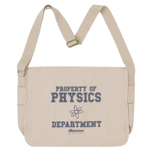 The Big Bang Theory Physics Department Messenger Bag
