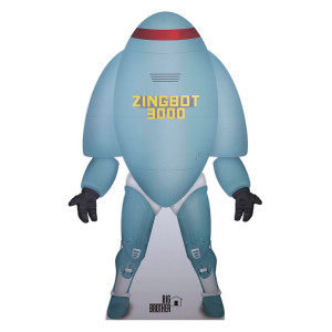 Big Brother Zingbot Standee With Sound [72x24]