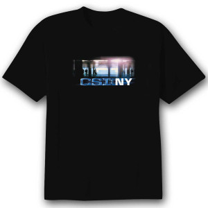 CSI: NY 'Subway' T-Shirt - Black