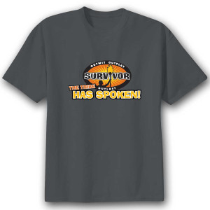 Survivor 'The Tribe Has Spoken' T-Shirt - Charcoal