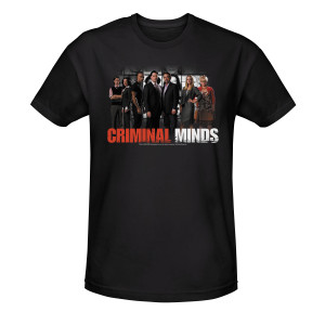 Criminal Minds Cast T-Shirt - Black
