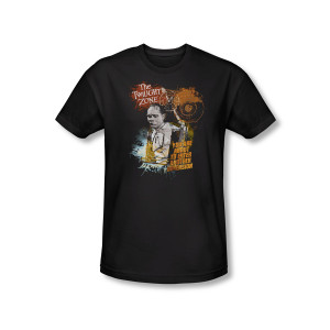 The Twilight Zone Enter At Own Risk T-Shirt